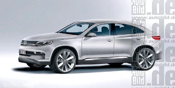 new Volkswagen Touareg CC