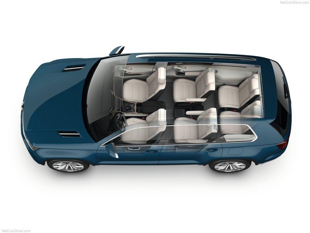 Семиместный внедорожник Volkswagen…