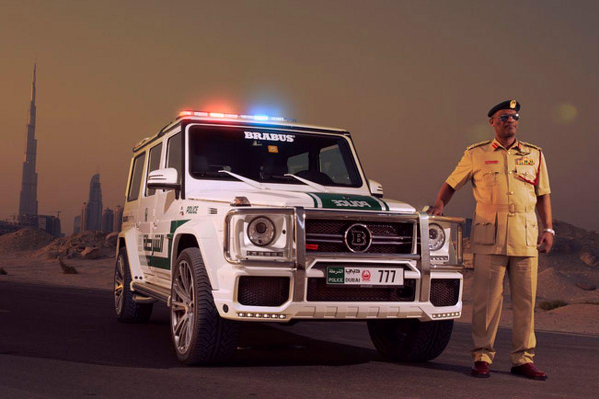 Гелик для полисменов Дубаи