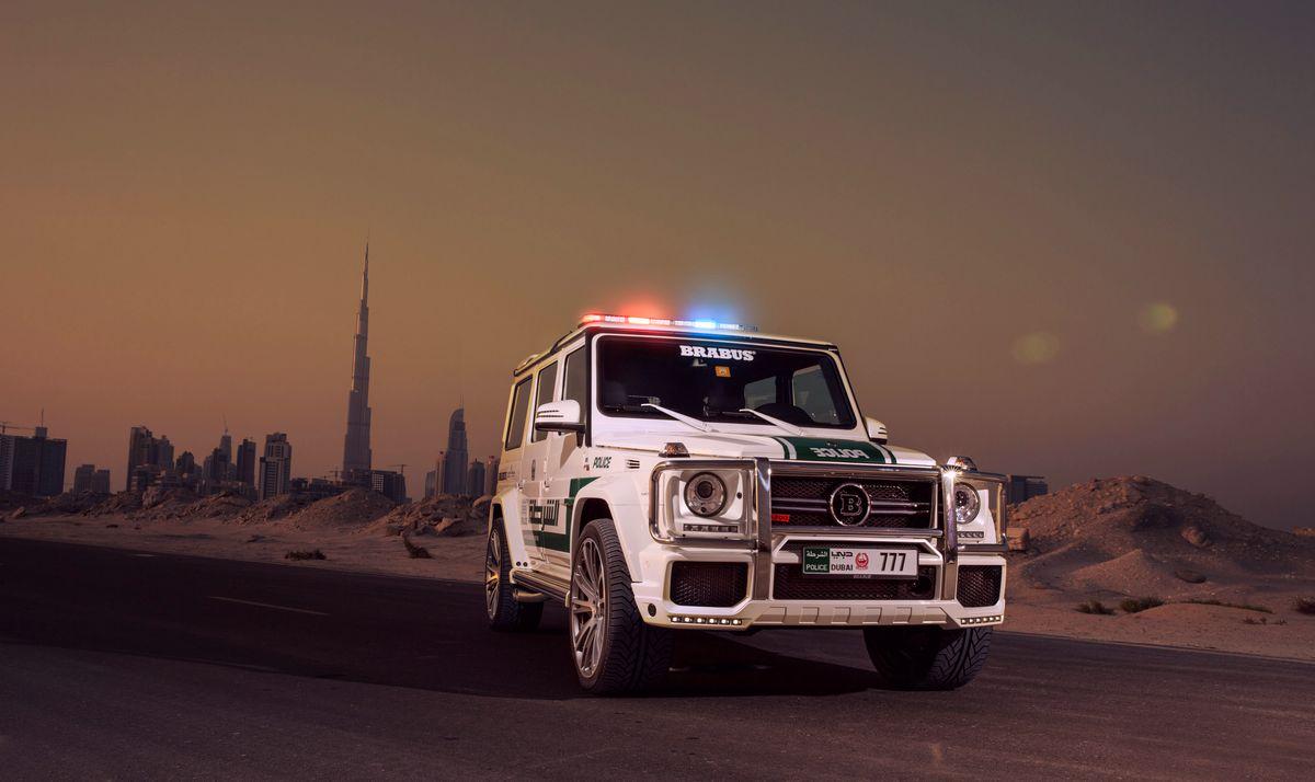 Mercedes-Benz G-Class B63S 700 Widestar от Brabus для полиции ...