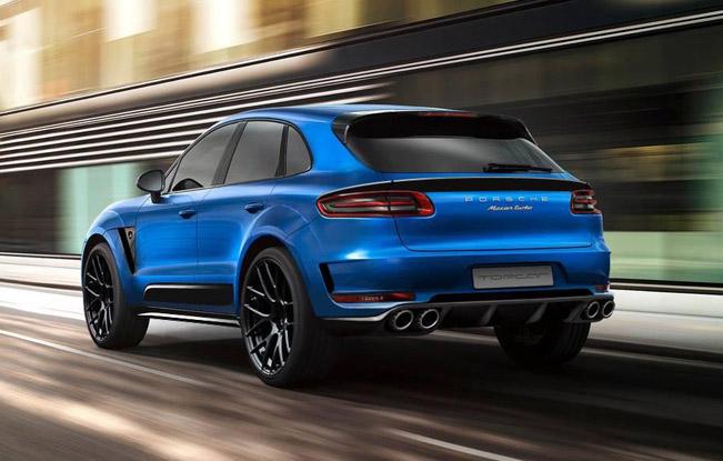 Тюнинг нового Porsche Macan