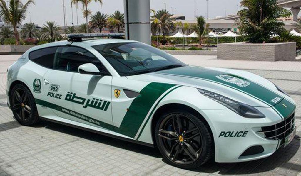 Ferrari FF для полиции Дубаи