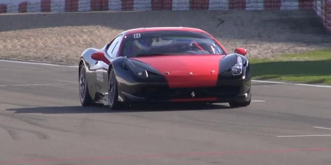Трековая версия Ferrari 458