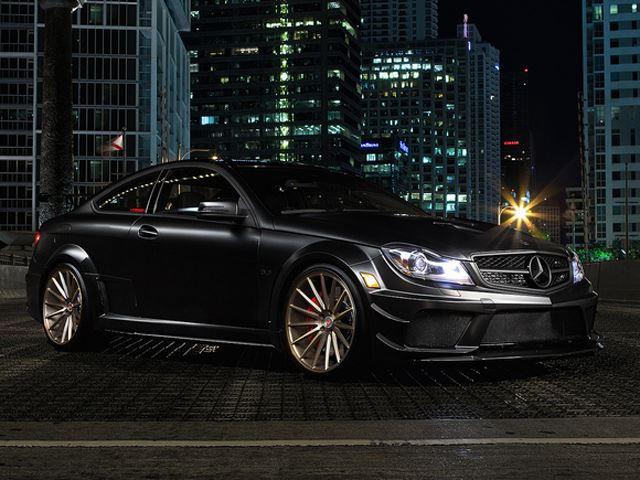 Тюнинг Mercedes-Benz c63 amg