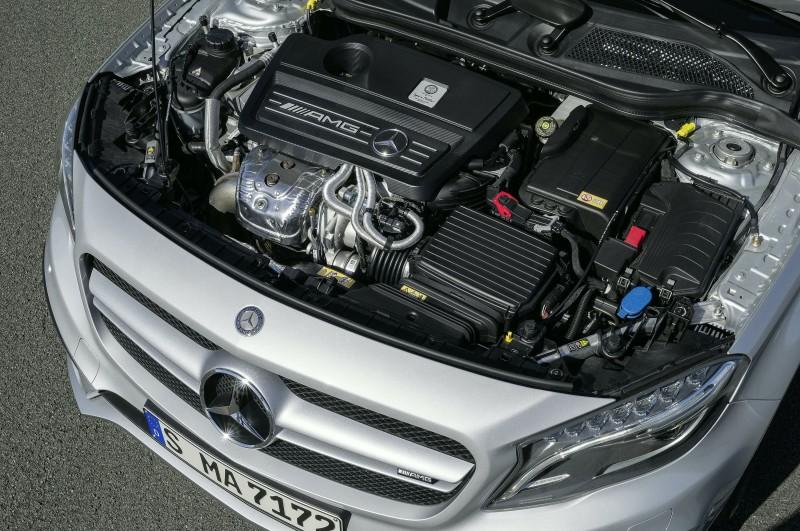 Тюнинг двигателя Mercedes-Benz GLA 45 AMG