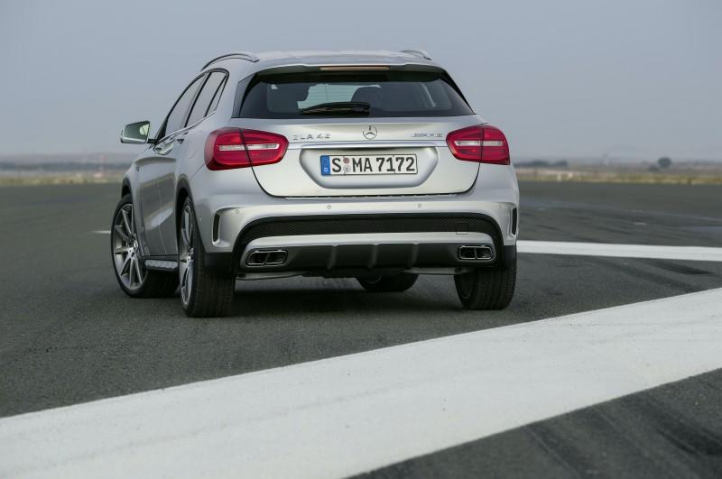 Тюнинг Mercedes-Benz GLA 45 AMG
