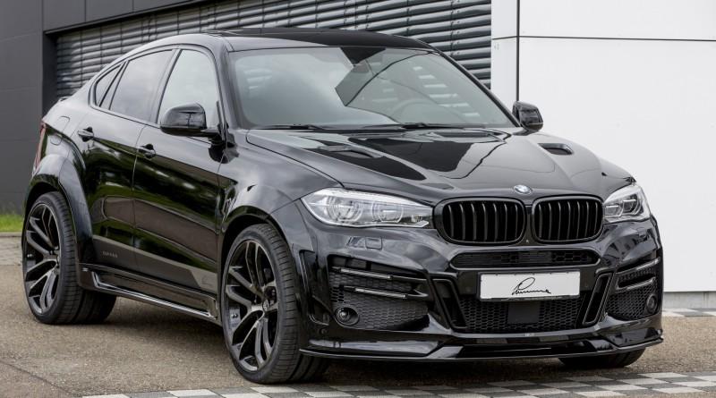 Тюнинг BMW X6 от Lumma Design