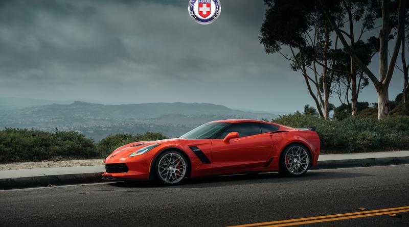 Диски HRE RS100M на Corvette Z06