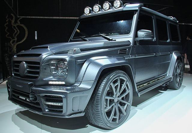 Mansory тюнинг Mercedes-Benz G63 AMG